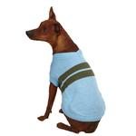 View Image 2 of Zack & Zoey Ivy League Dog Sweater - Air Blue