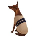 View Image 1 of Zack & Zoey Ivy League Dog Sweater - Camel