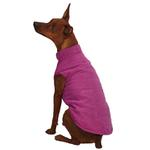 View Image 2 of Zack & Zoey Ivy League Dog Vest - Deep Raspberry