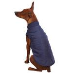 View Image 2 of Zack & Zoey Ivy League Dog Vest - Navy