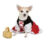 View Image 2 of Lil Red Riding Hood Dog Costume