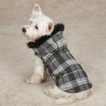 View Image 1 of Zack & Zoey Park Avenue Dog Coat