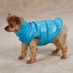 View Image 2 of Snow Lodge Dog Vest - Blue