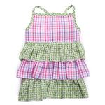 View Image 2 of Zack & Zoey Summer Breeze Dog Dress - Green