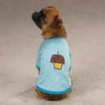 View Image 2 of Zack & Zoey Sweet Treats Dog T-Shirt - Cupcake