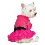 View Image 2 of Vibrant Party Dog Dress - Raspberry