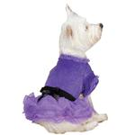 View Image 2 of Vibrant Party Dog Dress - Ultra Violet