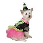 View Image 1 of Witchy Business Halloween Dog Costume - Green