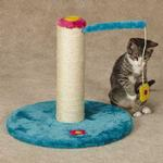 View Image 3 of Zanies Blooming Brights Cat Scratch Post