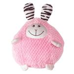 View Image 1 of Zanies Bumblies Dog Toy - Pink