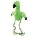 View Image 1 of Zanies BungeMingos Dog Toy - Green