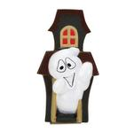 View Image 1 of Zanies Creepy Squeakers Dog Toy - Ghost