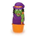 Zanies Creepy Squeakers Dog Toy - Witch