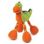 View Image 1 of Zanies Dino Babies Plush Dog Toys - Green