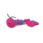 View Image 1 of Zanies Inch-a-longs Dog Toys - Raspberry