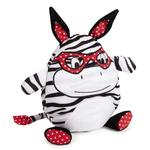 View Image 1 of Zanies Love Me Cuddle Buddies Dog Toy - Zebra