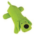 Zanies Neon Big Yelpers Dog Toy - Glowing Green