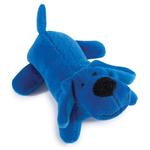 Zanies Neon Lil' Yelpers Dog Toy - Bright Blue