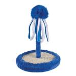 View Image 1 of Zanies Octopus Bat & Scratch Cat Toy - Blue