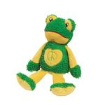 View Image 1 of Zanies Peace Party Dog Toy - Frog
