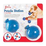 View Image 1 of Zanies Puzzle Station Ball 2pk