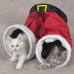 View Image 1 of Zanies Santa Pants Cat Toy