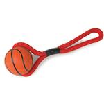 Zanies Sports Rope and Rubber Tugs - Basketball