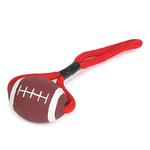 Zanies Sports Rope and Rubber Tugs - Football