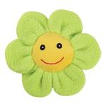 View Image 1 of Zanies Spring Garden Berber Flower Doy Toy - Green