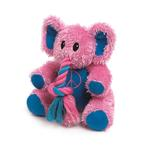 View Image 1 of Zanies Trunk Tugger Dog Toy - Pink