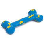 View Image 1 of Zanies Visibone Rubber Dog Toy - Bluebird