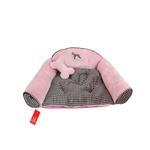 View Image 1 of Zion Dog Bed by Puppia - Pink