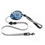 View Image 1 of Zip Lead Retractable Dog Leash by Planet Dog - Blue