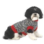 View Image 1 of Zoe's Zebra Dog Sweater