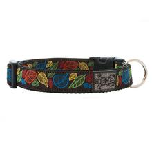 Autumn Leaves Adjustable Dog Collar by RC Pet