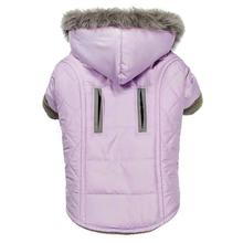 Zack and Zoey Quilted Thermal Dog Parka - Purple