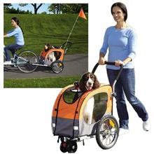 2-in-1 Guardian Gear Cross-Trainer Pet Stroller - Orange