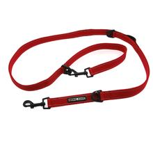 6 Way Multi-Function Dog Leash - Red