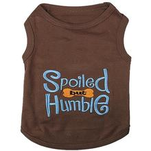 Spoiled but Humble Dog Tank by Parisian Pet