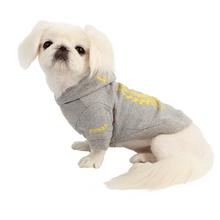 Accolade Dog Hoodie by Pinkaholic - Gray
