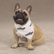 Adopt Dog Bandana