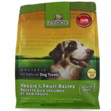 All-Natural Holistic Dog Treats - Veggie & Fruit Recipe
