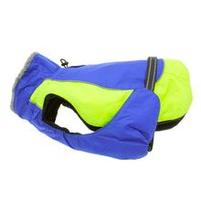 Alpine All-Weather Dog Coat - Blue and Green - Disc. Style