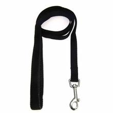 American River Cushion Grip Dog Leash - Black