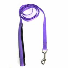 American River Cushion Grip Dog Leash - Purple