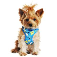 Wrap and Snap Choke Free Dog Harness - Hawaiian Blue