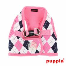 Argyle Dog Harness Vest by Puppia - Pink