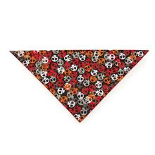 Aria Bone Heads Bandana - Orange