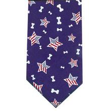 Aria Bone in the USA Dog Bandana - Blue