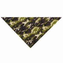 Aria Camo Dog Bandana - Green